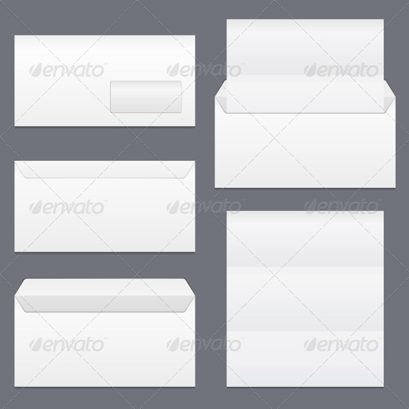 GraphicRiver Envelopes and Paper 7671238