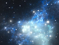 Space background filled with nebulae and stars - PhotoDune Item for Sale