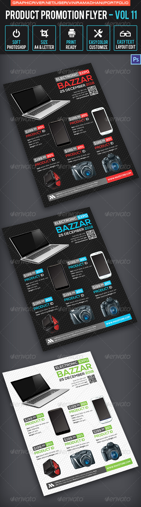 GraphicRiver Product Promotion Flyer Volume 11 7658099