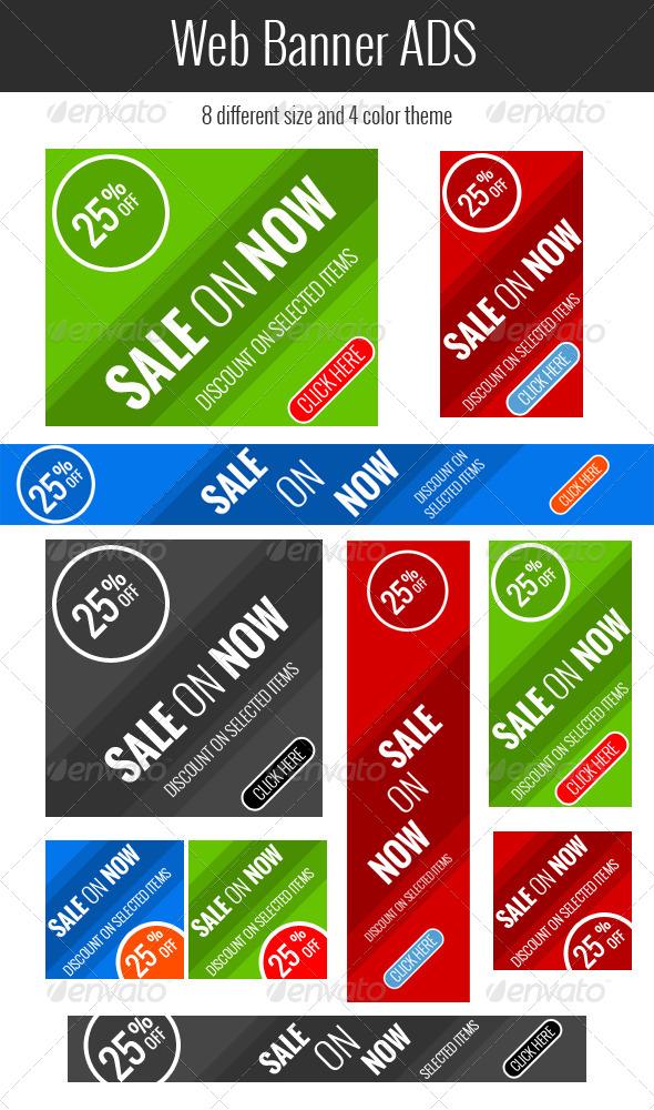 GraphicRiver Web Banner ads Vol 2 7672331