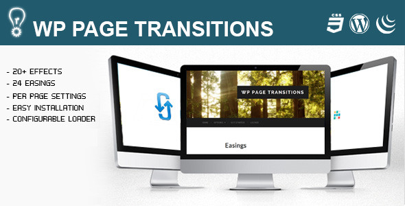 CodeCanyon WP Page Transitions 7666162