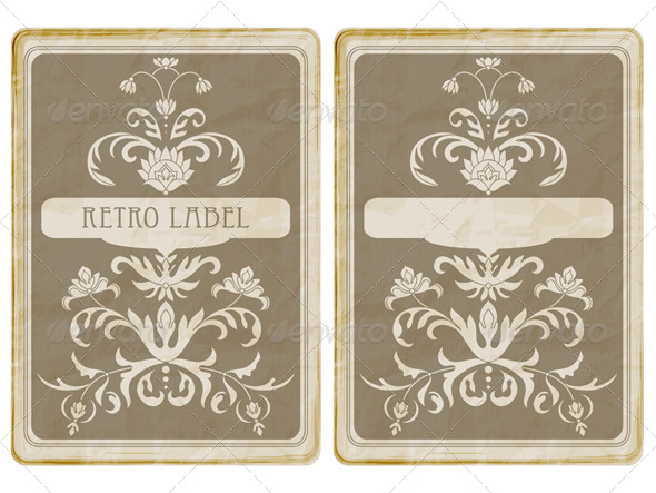 GraphicRiver Vintage Card 7672409
