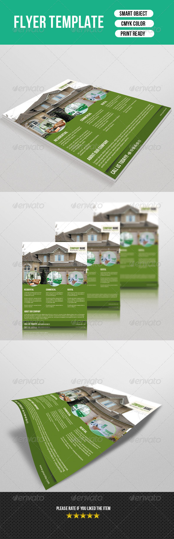 GraphicRiver Real Estate Flyer 7672501