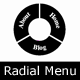 Voltar - Radial Menu for WordPress