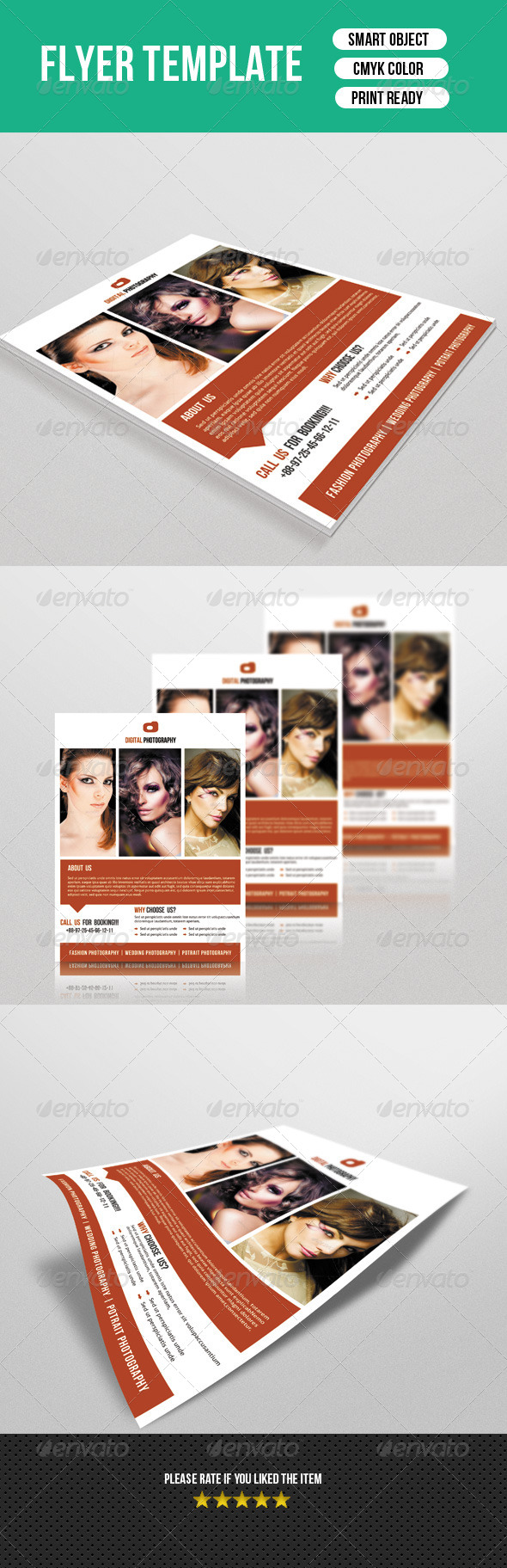 GraphicRiver Photographer Flyer 7672577