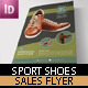Sport Shoes Flyer Template - GraphicRiver Item for Sale