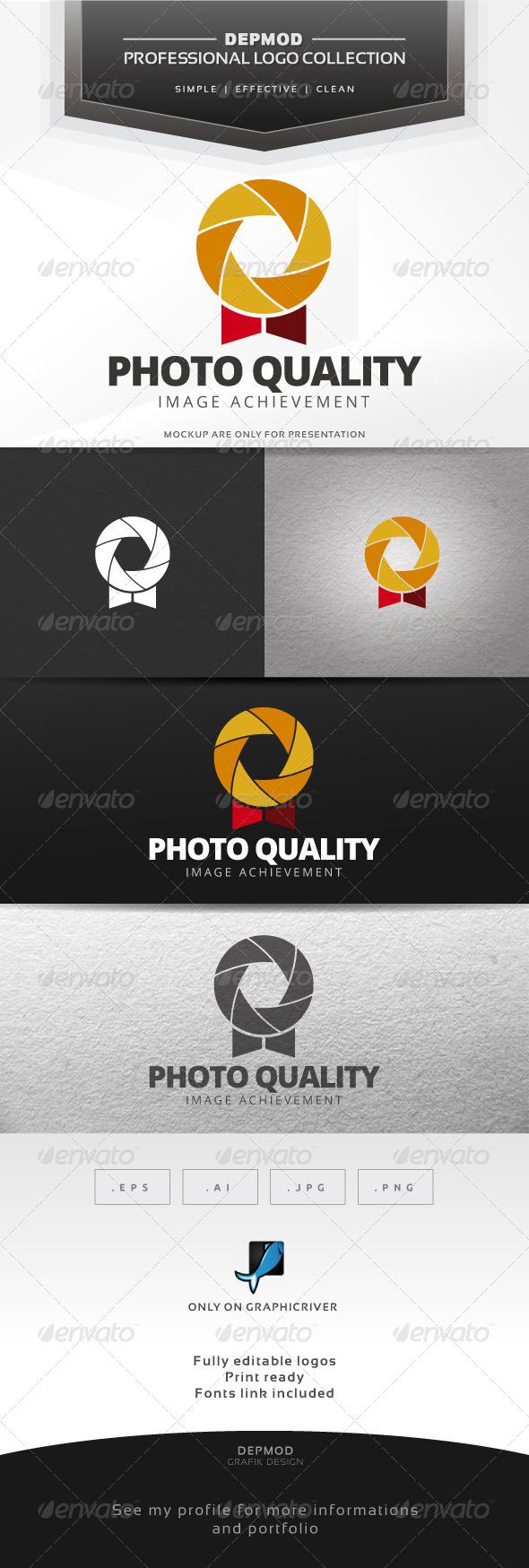 GraphicRiver Photo Quality Logo 7673583
