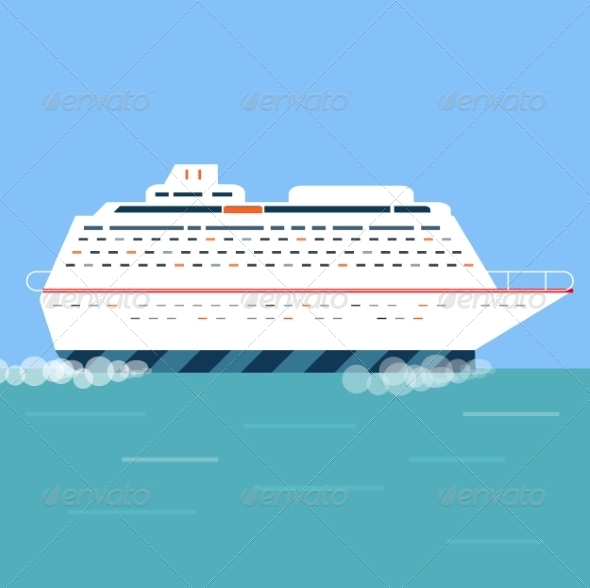 GraphicRiver Cruise Ship 7673589