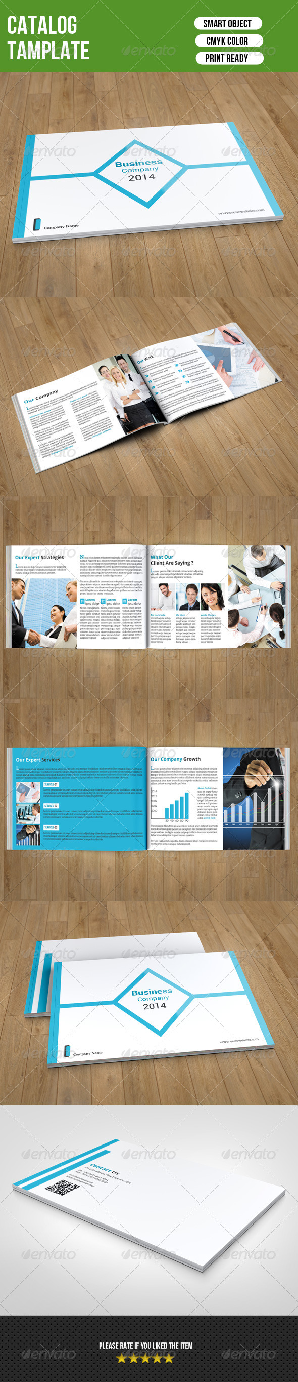 GraphicRiver Business Catalog Template 7673929