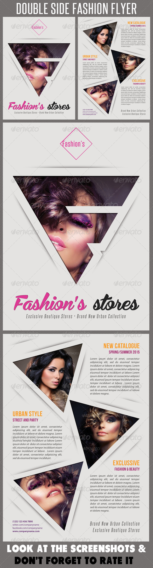 GraphicRiver Fashion Product Flyer 55 7673941