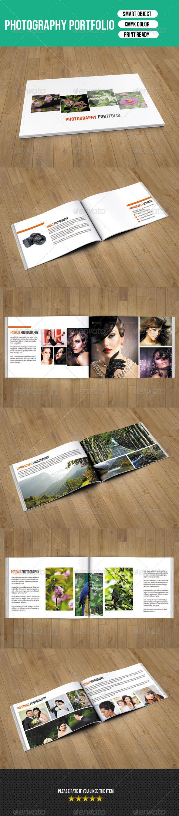 GraphicRiver Photographer Portfolio Catalog 7674238