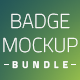 Button Badge Mockup Bundle - GraphicRiver Item for Sale