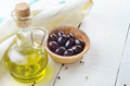 Olive oil and olives - PhotoDune Item for Sale