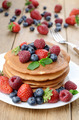 Pancakes with berries - PhotoDune Item for Sale