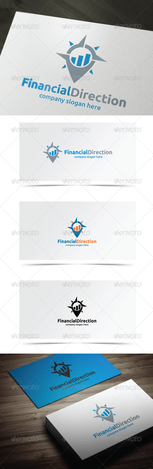GraphicRiver Financial Direction 7674726