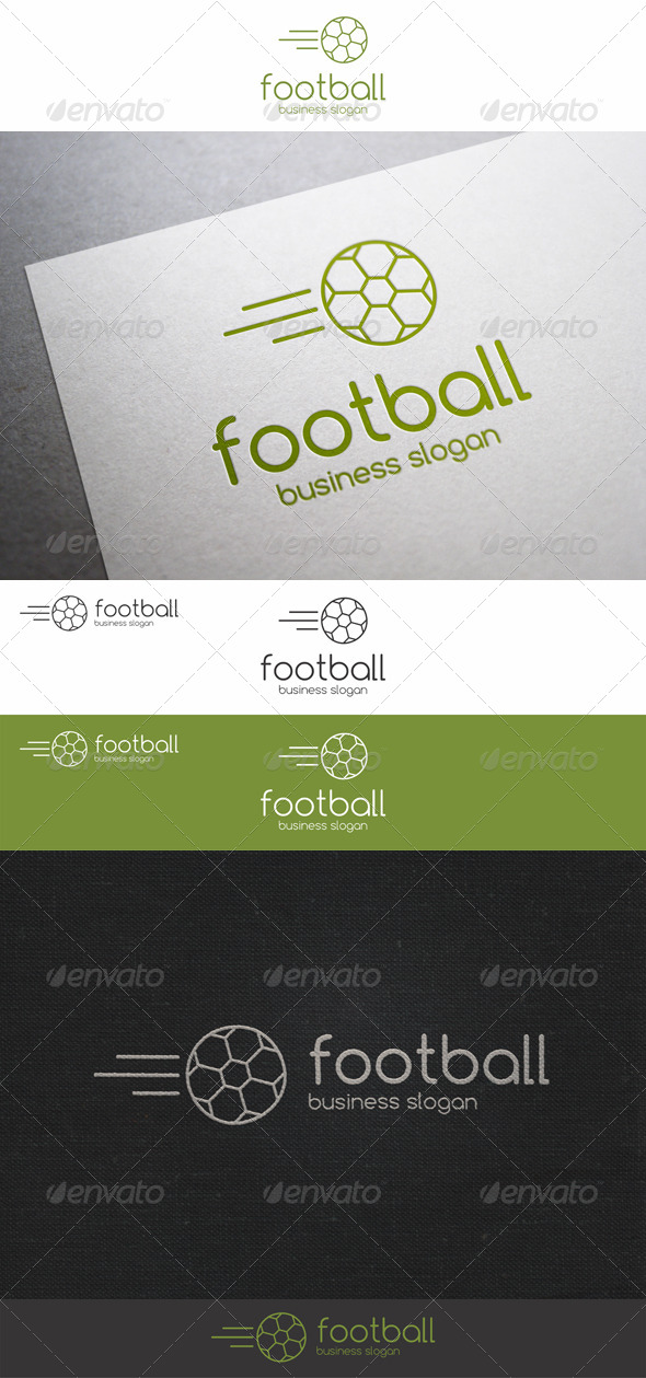 GraphicRiver Soccer Fast Ball Logo 7674755