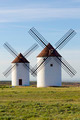 Two windmills front view - PhotoDune Item for Sale