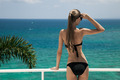 Young Woman Sunbathing. Luxury Sea View. - PhotoDune Item for Sale