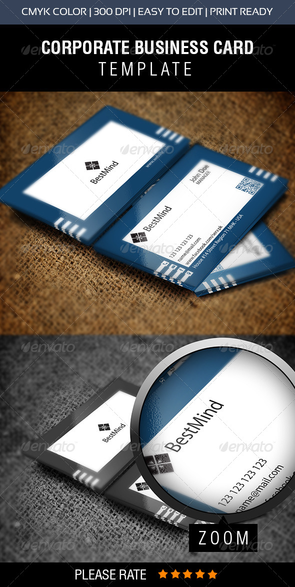 GraphicRiver Simple Visiting Card 7675417