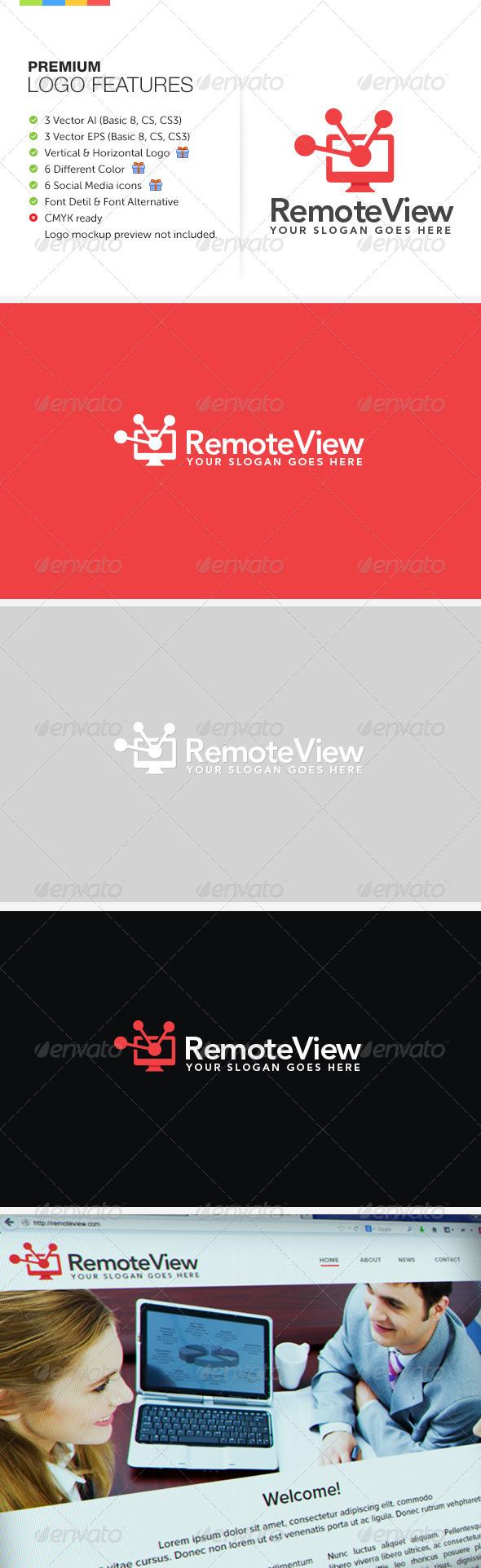 GraphicRiver Remote View Logo 7675471
