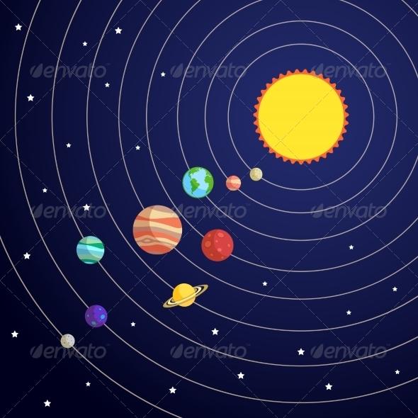 GraphicRiver Solar System Concept 7675501