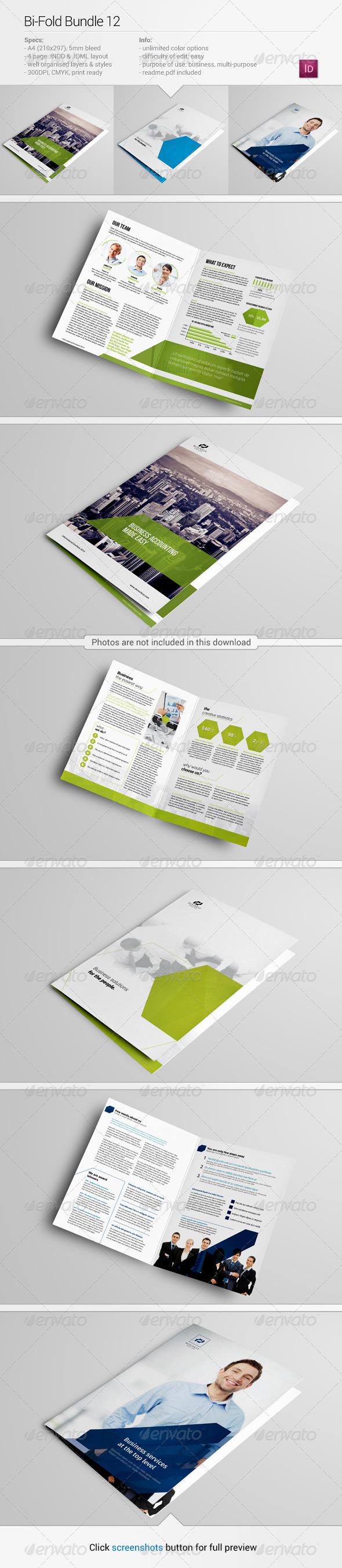 GraphicRiver Bi-Fold Bundle 12 7675517