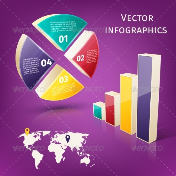 GraphicRiver Infographics 3D Set 7675544