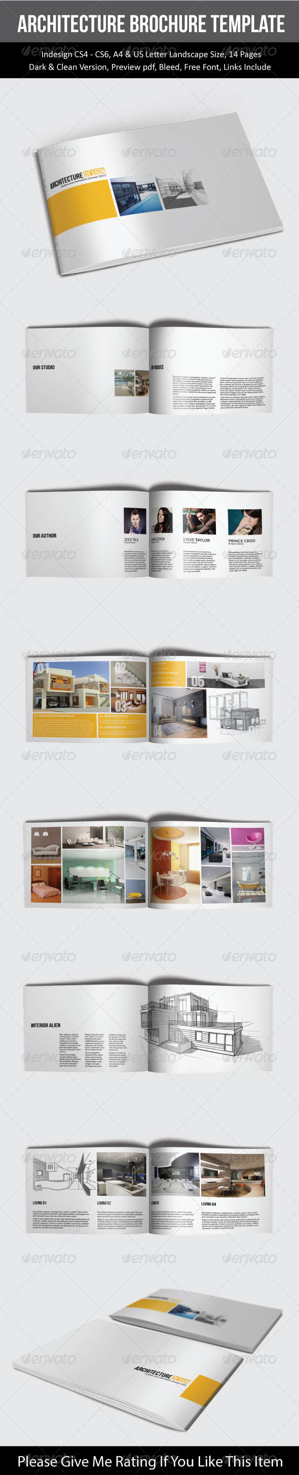 GraphicRiver Architecture Brochure Template 7675761