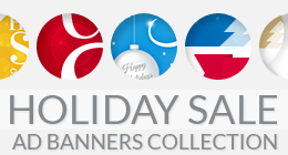 Holiday Sale Ad Banners Collection