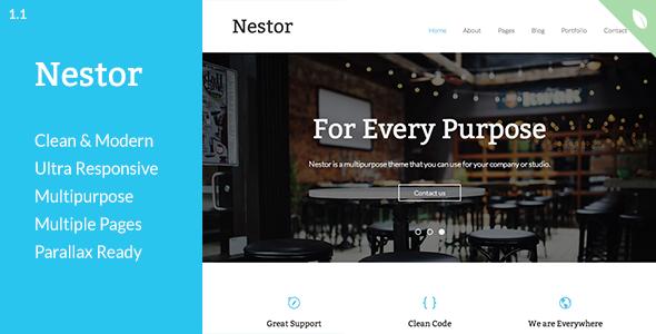 Nestor - Responsive Drupal Theme - Corporate Drupal