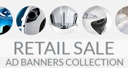 Retail Sale Ad Banners Collection