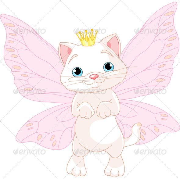 GraphicRiver Fairy Cat 7675806