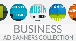 Business Ad Banners Collection