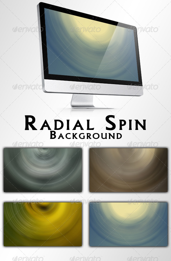 GraphicRiver Radial Spin Backgrounds 7675912