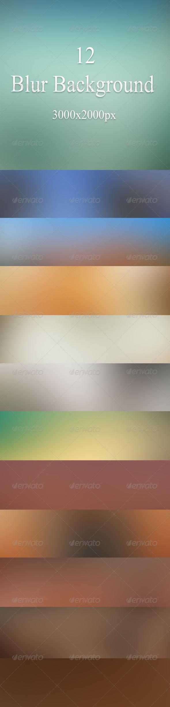 GraphicRiver Blur Background 7676865