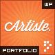 Artiste: Professional Portfolio WordPress Theme