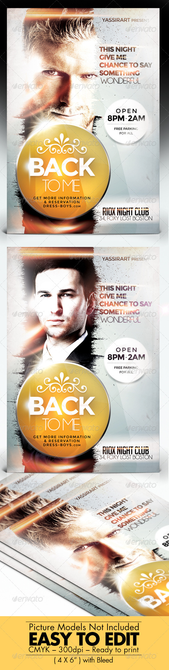 GraphicRiver Back To Me Flyer 7677351