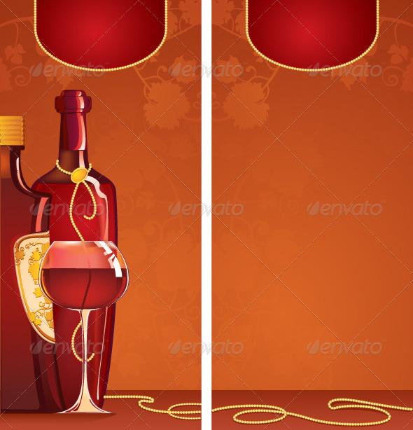 GraphicRiver Wine List 7677593