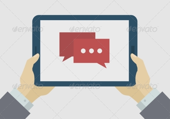 GraphicRiver Flat Design Mobile Tablet 7678595