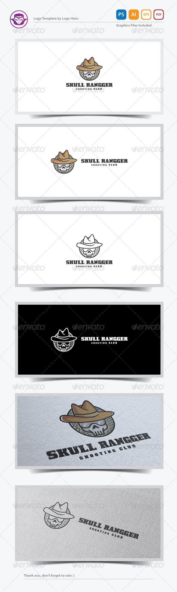 GraphicRiver Skull Ranger Logo Template 7678653