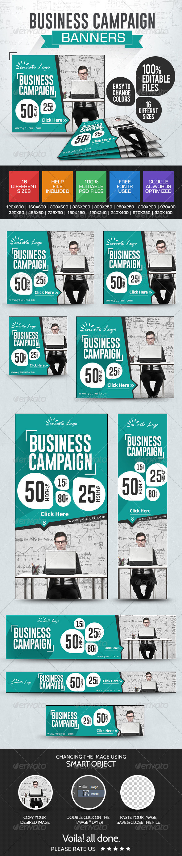 GraphicRiver Business & Services Banners 7678993