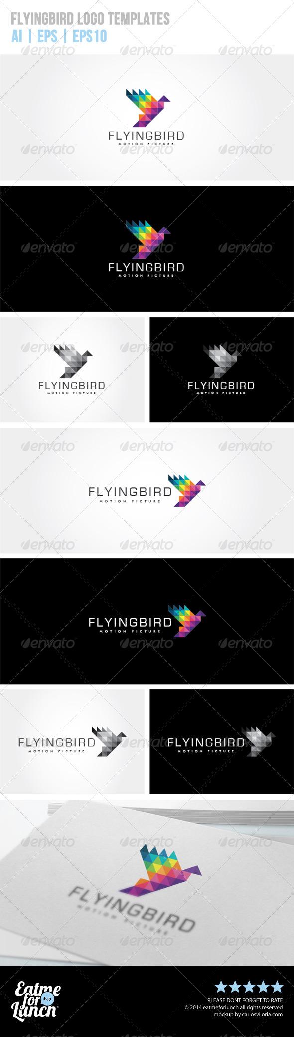 GraphicRiver Flying Bird Logo Templates 7679007