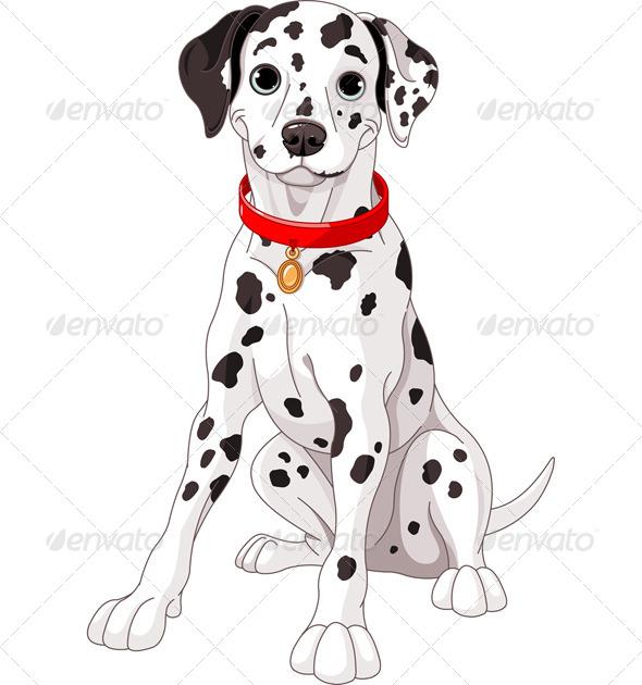 GraphicRiver Cute Dalmatian Dog 7679615