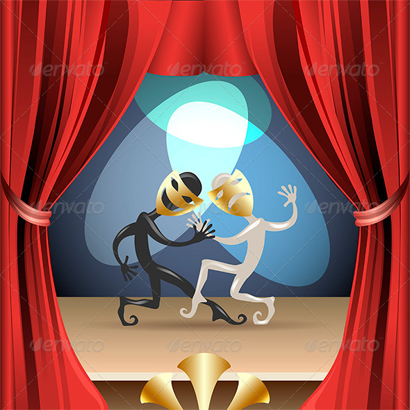 GraphicRiver The Theatre 7680012
