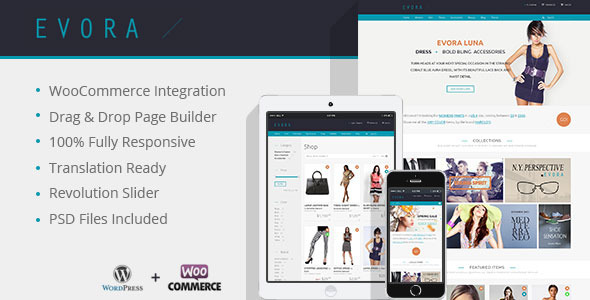 Evora - Responsive e Commerce Theme