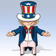 Uncle Sam Showing - GraphicRiver Item for Sale