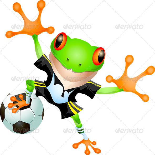 GraphicRiver Goalkeeper Frog 7680072