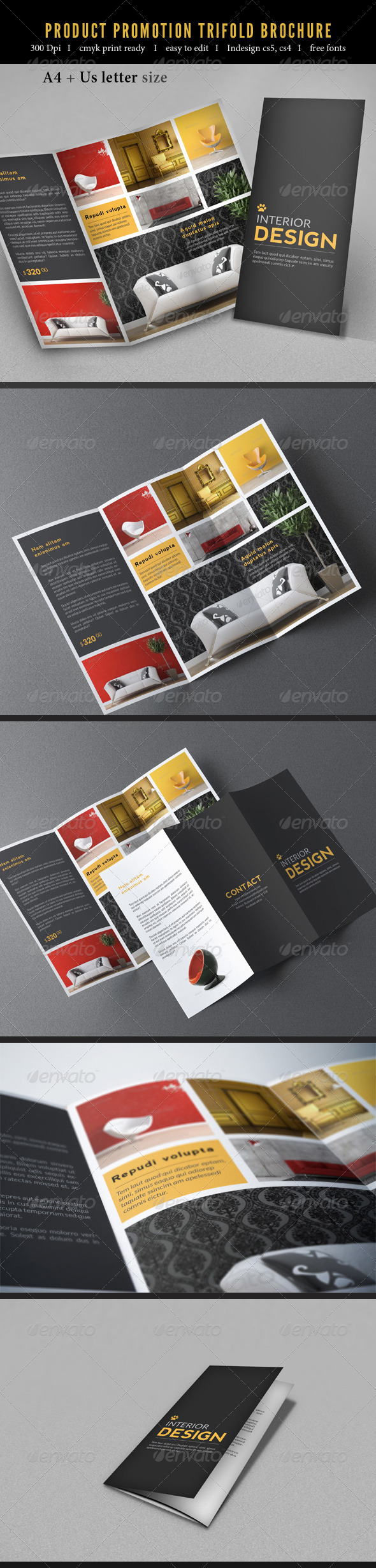 GraphicRiver Product Promotion Trifold Brochure 7665757