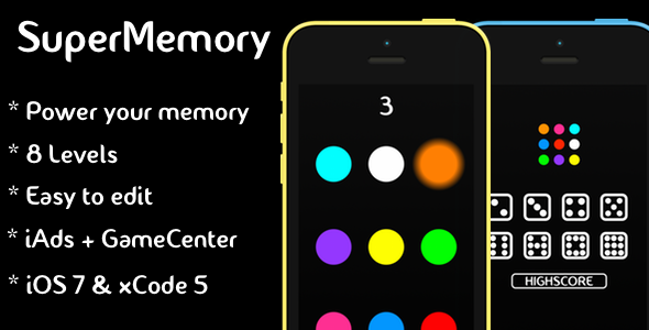 CodeCanyon SuperMemory & iAds & GameCenter 7680602