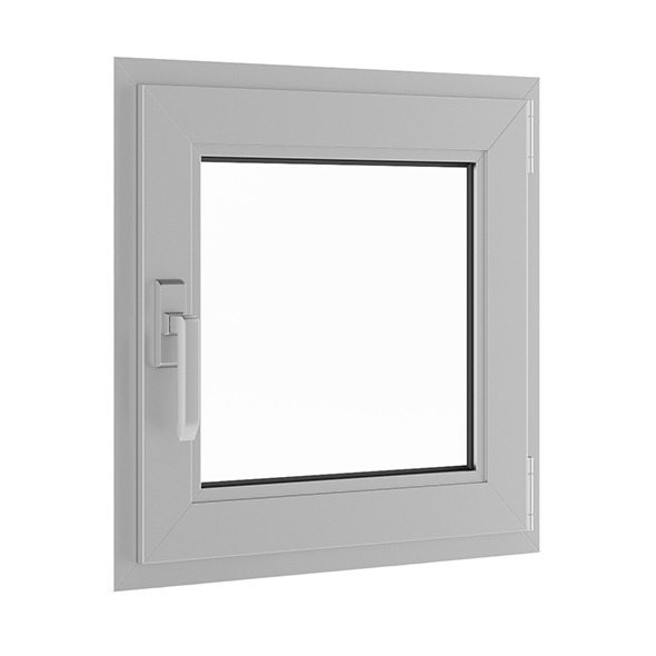 3DOcean Metal Window 620mm x 600mm 7680941